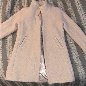 LOFT Funnel Neck Wool Coat - Like New!